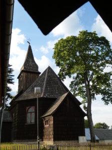 Kościół w Sominach z XVIII wieku.