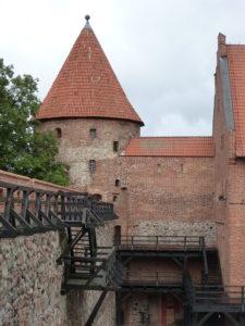 Zamek krzyżacki w Bytowie (wieża młyńska).